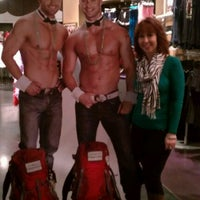Photo taken at Chippendales Theatre at The Rio Vegas by Leslie on 1/23/2013