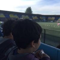 Photo taken at Estadio Ruben Marcos Peralta by Daniel P. on 5/7/2016