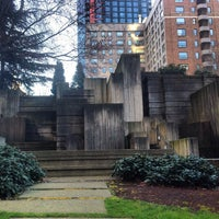 Photo taken at Freeway Park Garage by Lynae on 3/7/2015