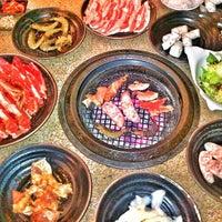 Photo taken at Tajimaya Charcoal Grill by Shaun M. on 4/20/2013