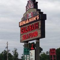 Photo taken at The Original Benjamin's Calabash Seafood by Kyle K. on 5/4/2013