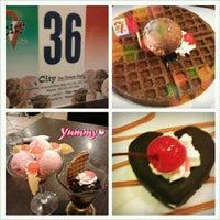 Photo taken at City Ice Cream Medan Plaza by Lisa Lim 林麗莎 on 1/5/2013