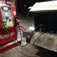 Photo taken at Kum & Go by Sam K. on 12/18/2013
