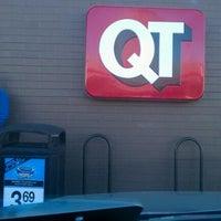 Photo taken at QuikTrip by Sam K. on 1/14/2013