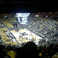Photo taken at Crisler Center by Daryn H. on 2/24/2013