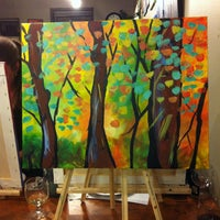 Photo taken at Sipping N' Painting by Tera on 3/22/2013