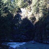 Photo taken at The Granite Falls Falls by Nickie on 1/24/2014