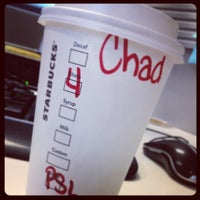 Photo taken at Starbucks by Chadwick R. on 10/9/2012