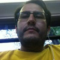 Photo taken at AU – Tenleytown Shuttle Stop by Juan on 10/4/2012
