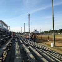 Photo taken at Delaware International Speedway by Mitch S. on 6/28/2014
