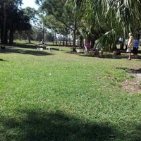 Photo taken at Estero Community Park Dog Run by Katie O. on 1/27/2013