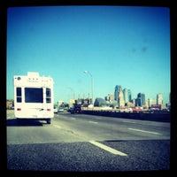 Photo taken at Missouri/Kansas Border by Samantha on 10/20/2012
