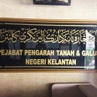 Photo taken at Pejabat Setiausaha Kerajaan (SUK) Negeri Kelantan by muhamad azizil o. on 5/25/2016