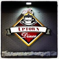Photo taken at Uptown Diner by Ericka B. on 3/9/2013