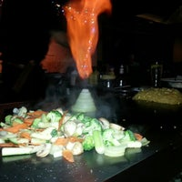 Photo taken at UMI Japanese Steakhouse by Mike W. on 12/16/2013