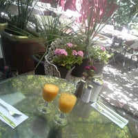 Photo taken at Cloister Cafe by YY on 7/14/2013
