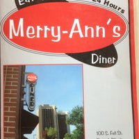 Photo taken at Merry Ann's Diner by Robert D. on 8/10/2013