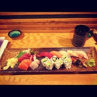 Photo taken at Murasaki Restaurant and Sushi Bar by Forrest K. on 11/24/2012