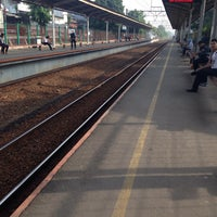 Photo taken at Stasiun Cawang by Evik D. on 5/5/2016