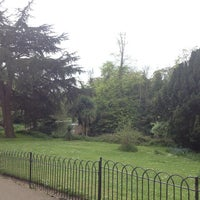 Photo taken at Ravenscourt Park by Diana on 5/5/2013