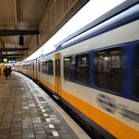 Photo taken at Station Amsterdam Muiderpoort by Erik V. on 11/20/2012