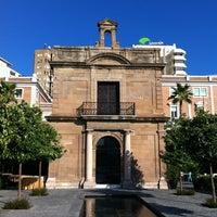 Photo taken at Capilla del Puerto de Málaga by Daniel L. on 8/31/2013