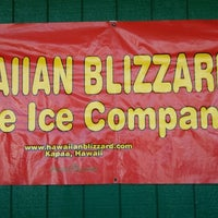 Photo taken at Hawaiian Blizzard Shave Ice Co by Francine G. on 2/13/2015