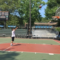 Photo taken at Rucker Park Basketball Courts by RMi F. on 6/20/2016