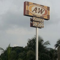 Photo taken at A&W by Azhar S. on 11/11/2012