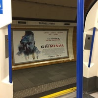 Photo taken at Tufnell Park London Underground Station by Omar B. on 4/4/2016