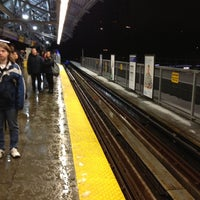 Photo taken at Lougheed Town Centre SkyTrain Station by Jay L. on 12/19/2012