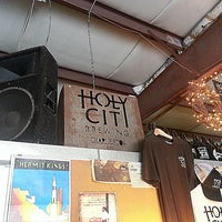 Photo taken at Holy City Brewing by Stacy A. on 2/21/2013