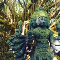 Photo taken at Kauai Hindu Monastery by Meena G. on 3/7/2016