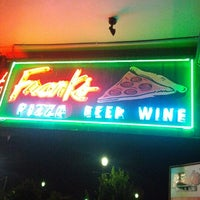 Photo taken at Frank's Pizza by Jose R. on 9/23/2012