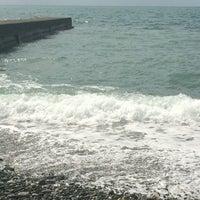 Photo taken at Дикий Пляж by Lera G. on 8/30/2014