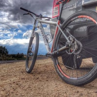 Photo taken at Lion's Wilderness Amphitheater - PRCA by Donnie E. on 7/5/2014
