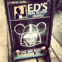 Photo taken at Ed's Real Scoop by Gage on 11/11/2012