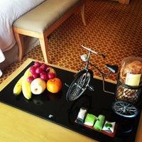 Photo taken at JW Marriott Hotel Jakarta by Theo O. on 6/7/2013