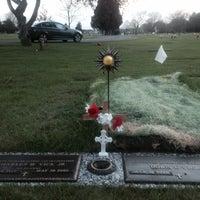 Photo taken at Sunset Memorial Gardens by Mel K. on 5/11/2014