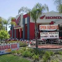 Photo taken at Huntington Beach Honda Motorcycles by Huntington H. on 4/16/2013
