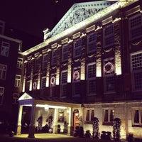 Photo taken at Sofitel Legend The Grand Amsterdam by Anton M. on 12/13/2012