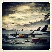 Photo taken at Boston Logan International Airport (BOS) by Ball on 7/22/2013