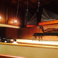 Photo taken at Paul Recital Hall at Juilliard by Pan P. on 2/8/2015