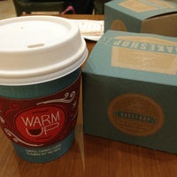 Photo taken at Caribou Coffee by Hind on 12/15/2012