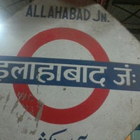 Photo taken at Allahabad Junction by Ashish L. on 9/3/2013