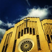 Photo taken at National Shrine of Our Mother of Perpetual Help by Tricia C. on 4/13/2013