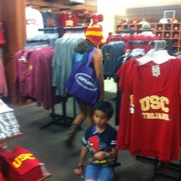 Photo taken at USC Bookstore (BKS) by Linda on 4/21/2013