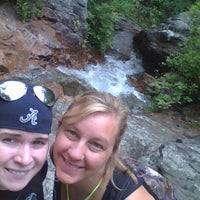 Photo taken at Peavine Falls Overlook by Jess C. on 7/13/2013