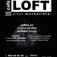 Photo taken at Loft by CAFE LOFT P. on 10/8/2014