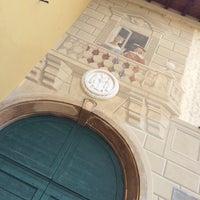 Photo taken at Villa Dei Conti Cavenago by Simone on 6/14/2014